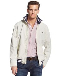 Tommy Hilfiger | White Regatta Jacket for Men | Lyst