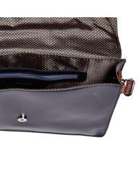River Island - Blue Navy Smart Envelope Work Bag for Men - Lyst