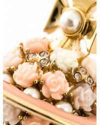 Vivienne Westwood   Metallic 'Rose Orb' Necklace   Lyst