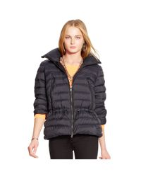 Pink Pony - Black Mockneck Down Jacket - Lyst