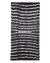 Raey - Black Tie-Dye Print Modal And Wool-Blend Scarf - Lyst