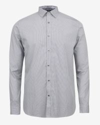 Ted Baker | Blue Debonair Geo Print Shirt for Men | Lyst