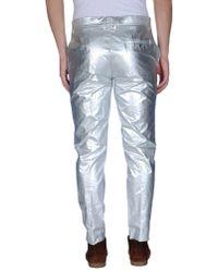 Acne Studios - Metallic Casual Trouser for Men - Lyst