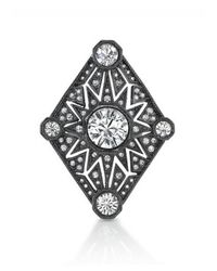 House of Harlow 1960 | Gray Four Point Triangle Ring | Lyst
