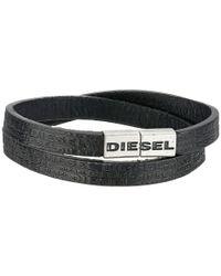 DIESEL | Black 00Sjy1 0Aakh Alemo Bracelet | Lyst