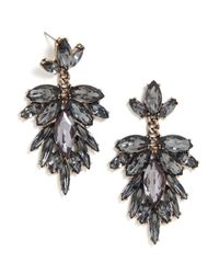 BaubleBar | Gray Crystal Fray Drops | Lyst