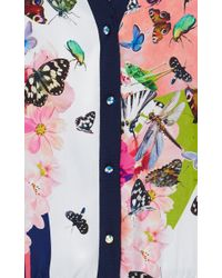 Clover Canyon | White Cascading Butterflies Cardigan | Lyst