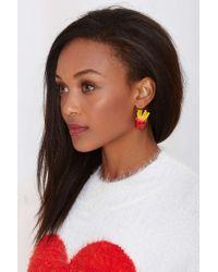 Nasty Gal | Multicolor Fry It Up Earrings | Lyst