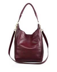 See By Chloé | Red Paige Leather Convertible Hobo | Lyst