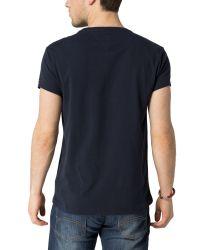 Tommy Hilfiger | Black Terrance T Shirt for Men | Lyst