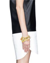 Venessa Arizaga - Multicolor 'meet Me In The Tropics - Banana' Bracelet - Lyst