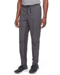 Adidas - Black 's1 Tech Jogger' Training Pants for Men - Lyst