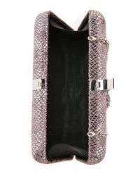 Inge Christopher - Metallic Paulina Clutch - Silver - Lyst