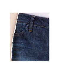 Tommy Hilfiger - Blue Cropped Jeans - Lyst