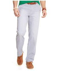 Polo Ralph Lauren - Blue Classic-Fit Maritime Seersucker Pants for Men - Lyst