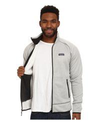 Patagonia | White Tech Fleece Jacket for Men | Lyst