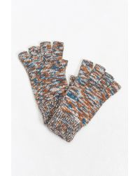 Urban Outfitters - Multicolor Marled Fingerless Glove for Men - Lyst