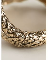 Roberto Cavalli - Metallic Horse Wrap Around Cuff - Lyst