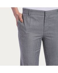 Bally | Blue Prince Of Wales Trousers | Lyst