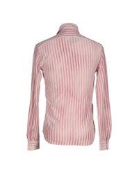 Aspesi - Purple Shirt for Men - Lyst