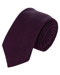 Barneys New York - Purple Grenadine Necktie for Men - Lyst