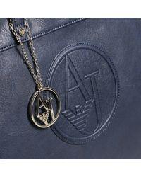 Armani Jeans - Blue Shoulder Bag Handbag Woman - Lyst