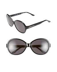 BCBGMAXAZRIA | Black Bcbg 'sweetheart' 60mm Sunglasses | Lyst