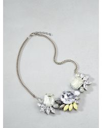 Patrizia Pepe | Metallic Junk Jewellery Necklace | Lyst