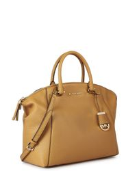 Michael Kors - Brown Riley Large Leather Tote - Lyst