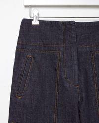 Marni - Blue Wide-leg Denim Trouser - Lyst