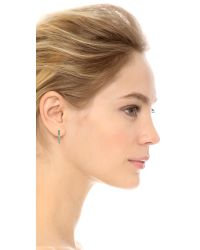 Marc By Marc Jacobs | Metallic This Way Earrings - Argento | Lyst