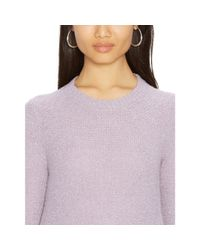 Ralph Lauren - Purple Elbow-patch Sweater - Lyst