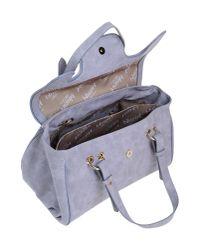 Blugirl Blumarine - Gray Handbag - Lyst