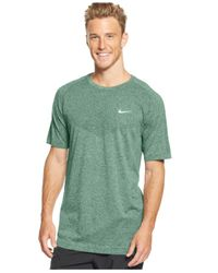 Nike - Gray Dri-fit Crew-neck Performance T-shirt for Men - Lyst