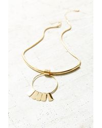 Urban Outfitters | Metallic Rae Sun Drop Choker Necklace | Lyst