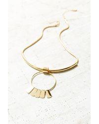 Urban Outfitters - Metallic Rae Sun Drop Choker Necklace - Lyst