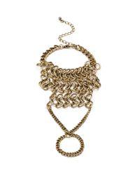 Forever 21 - Metallic Stretchy Beaded Bracelet Set - Lyst