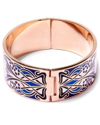 Liberty - Blue Ianthe Multicolour Thick Cuff - Lyst