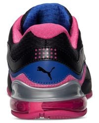 PUMA - Pink Women'S Cell Riaze Running Sneakers From Finish Line - Lyst