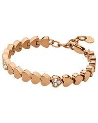 Dyrberg/Kern | Pink Dyrberg/kern Enamor Bracelet | Lyst