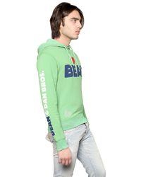 DSquared² - Green Love Beat Cotton Fleece Sweatshirt for Men - Lyst