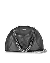 Jean Paul Gaultier - Black Leather Bowling Bag - Lyst