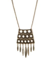 Forever 21 - Metallic Heirloom Pendant Necklace - Lyst