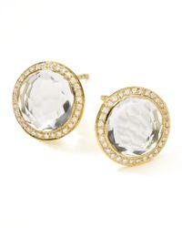 Ippolita | Metallic 18k Gold Lollipop Stud Earrings | Lyst