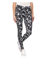 Converse | White Global Fit Printed Knit Leggings | Lyst