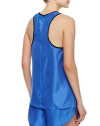 Rag & Bone - Blue Teddy Polka Dot Tank - Lyst