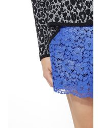 Liu Jo | Blue Lace Skirt | Lyst