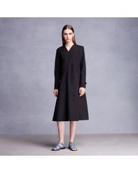 Trademark | Black Drape Panel Dress | Lyst