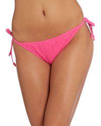 Marie Meili | Pink Bikini Brief | Lyst