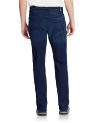 7 For All Mankind | Blue Luxe Performance Easy Straight Leg Jeans for Men | Lyst